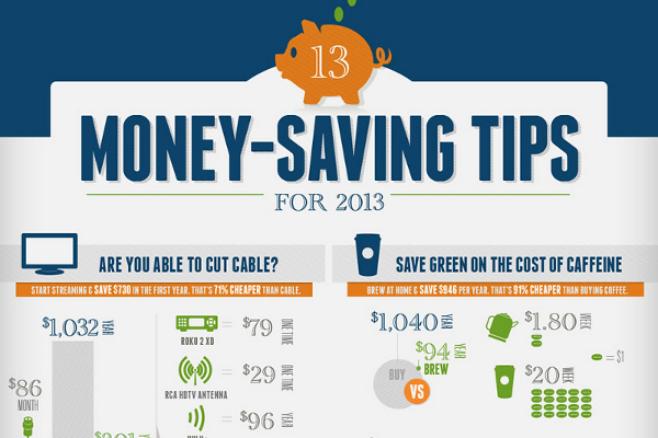 13 Creative Ways to Save Money