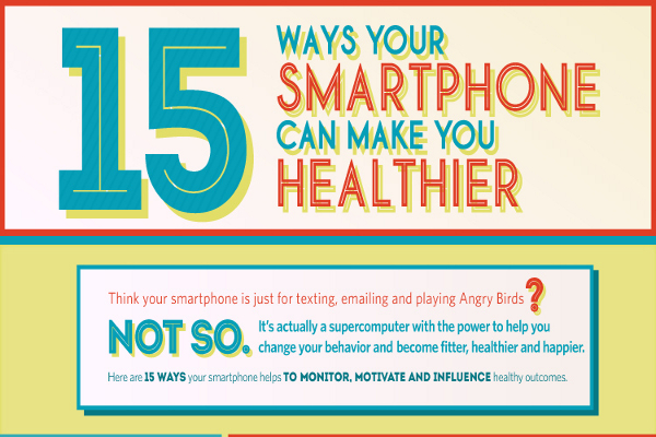 15 Ways Your Cell Phone Can Make You Healthier