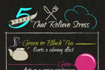 5 Foods that Help Relieve Stress and Anxiety