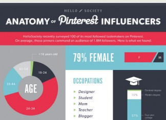 Geographic and Demographic Profile of Pinterest Influencers