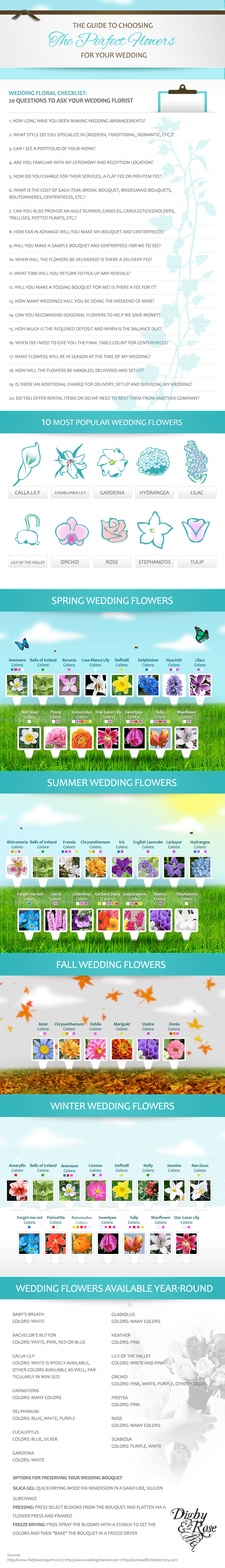 Guide to Choose the Perfect Flower for Your Wedding