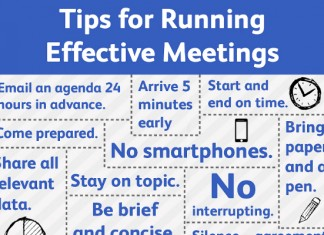 How to Have and Run an Effective Meeting