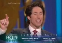 Preacher Joel Osteen's Net Worth