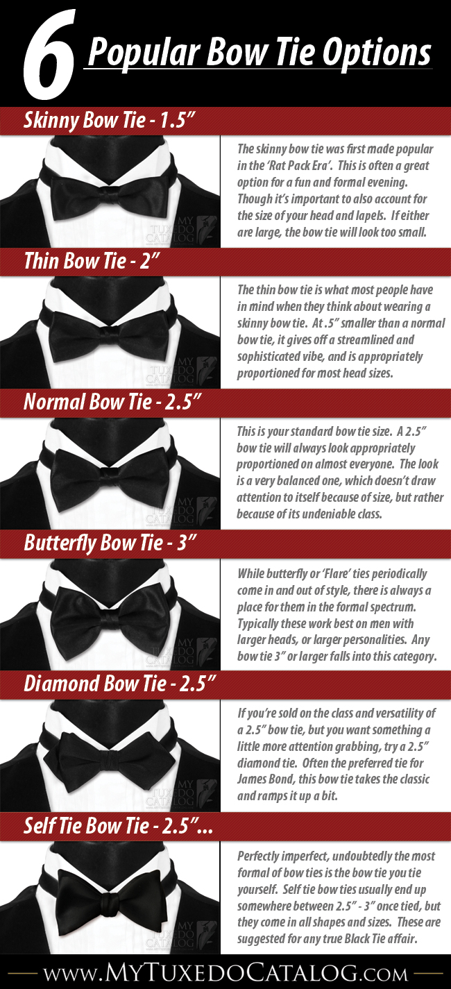 012390e28e14 The 6 Different Types of Bow Ties - BrandonGaille.com