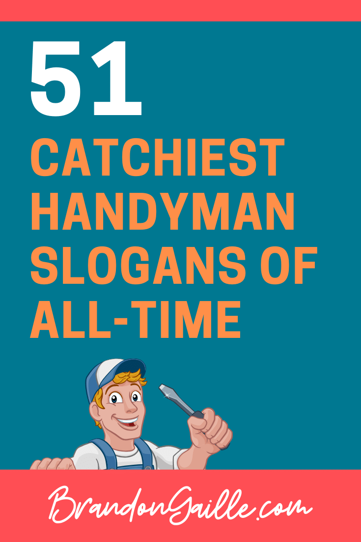 Handyman Slogans
