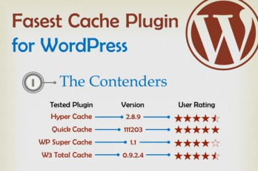 4 Fastest WordPress Cache Plugins