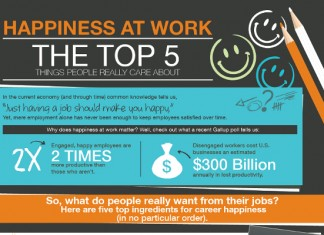 5 Things that Make Employees Really Happy