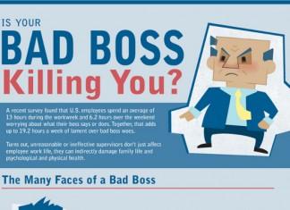 5 Bad Boss Characteristics