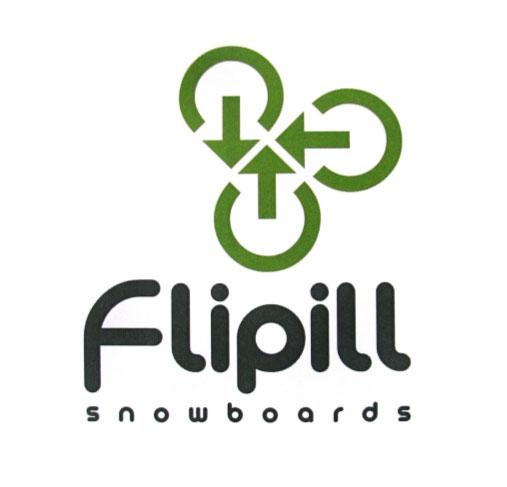 Flipill Snowboards Company Logo