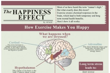 How Exercise Makes You Happy