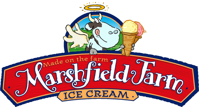 Marshfield Farm Ice Cream Company Logo