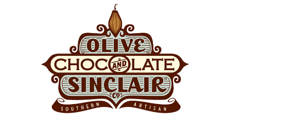 Olive and Sinclair Chocolate Company Logo