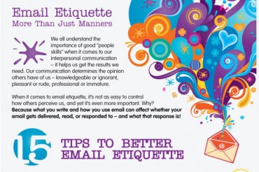 Proper Business Email Etiquette Samples