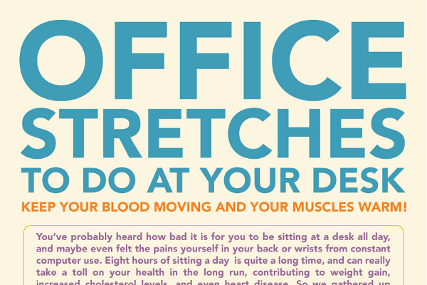 The Perfect Office Stretching Routine Brandongaille Com