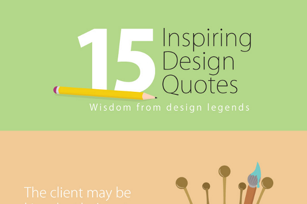 15 Inspiring Design Ideas: 15 Inspiring Design Quotes From Design Legends