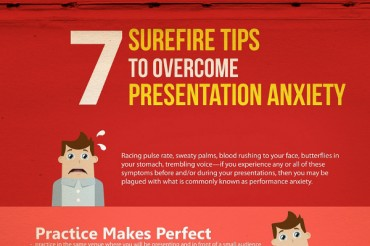 7 Ways to Overcome Presentation Anxiety