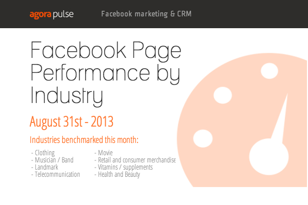 A Look at Facebook Page Performance by Industry