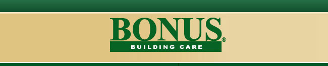 Bonus Building Care Company Logo