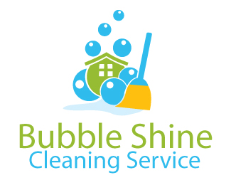 Bubble Shine Cleaning Service Company Logo