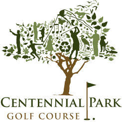 Centennial Park Golf Course Logo 29 Famous Golf Course Logos