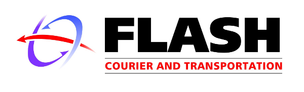 Flash Courier and Transportation Company Logo