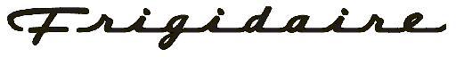 Frigidaire Company Logo