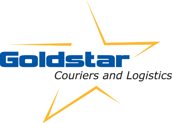 Goldstar Couriers and Logisitics Company Logo