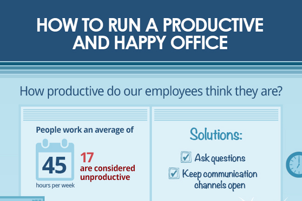 How to Run a Productive Office Filled with Happy Employees
