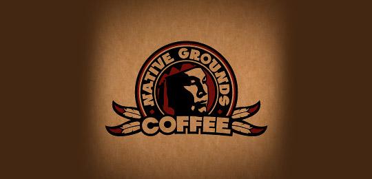 Native Grounds Coffee Company Logo