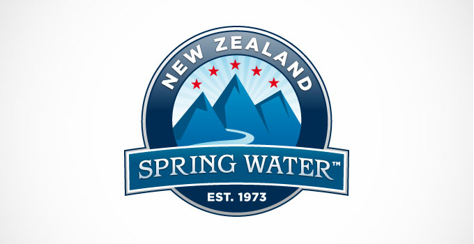 New Zealand Spring Water Company Logo