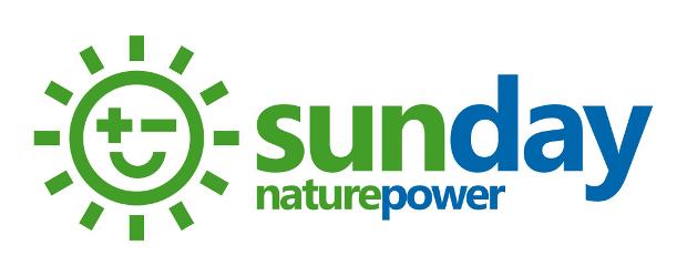 Sunday Nature Power Company Logo