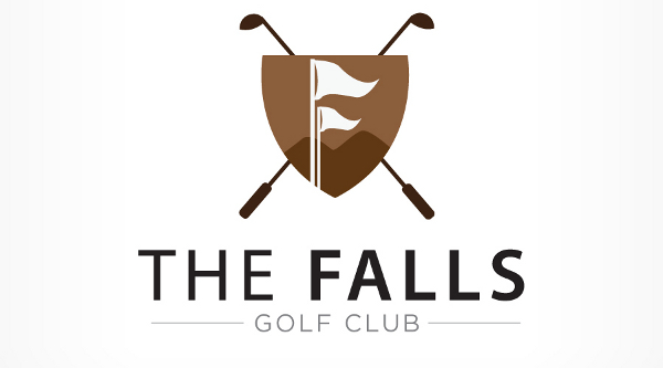 The Falls Golf Course Logo 29 Famous Golf Course Logos