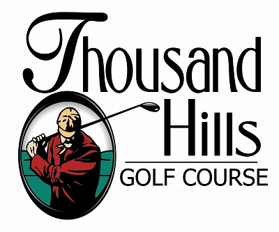 Thousand Hills Golf Course Logo 29 Famous Golf Course Logos