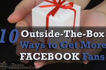 10 Creative Ways to Get More Facebook Fans
