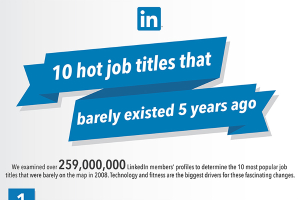 10 New Job Titles that Are in Serious Demand