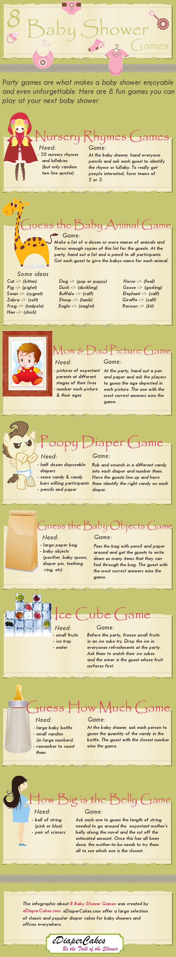 Baby Shower Game Ideas