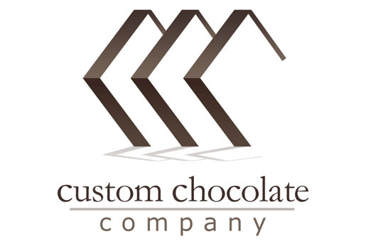 Custom Chocolate Company Logo