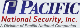 Pacific National Security Company Logo