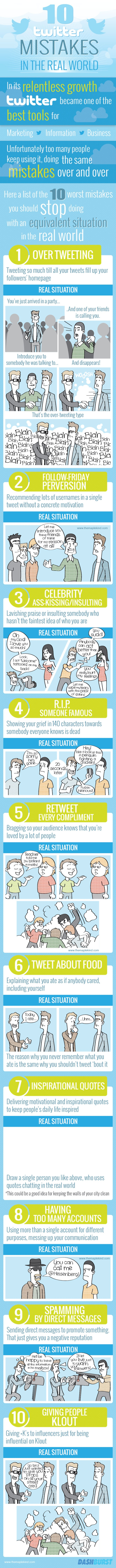 Twitter Mistakes to Watch Out For