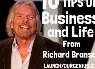 10 Business Tips from Billionaire Richard Branson