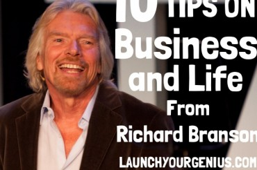 10 Business Tips from Billionaire Richard Branson