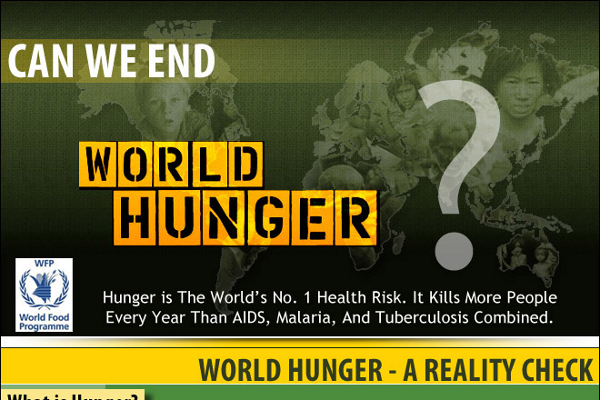 essays on hunger in the world