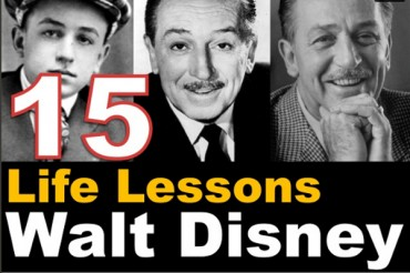 15 Lessons Learned from Walt Disney