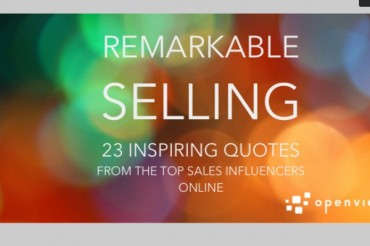 23 Motivational Quotes for Sales Managers