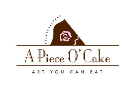 A Piece O' Cake Company Logo