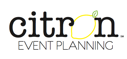 Citron Event Planning Company Logo