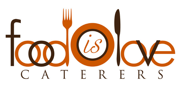 Food is Love Catering Company Logo