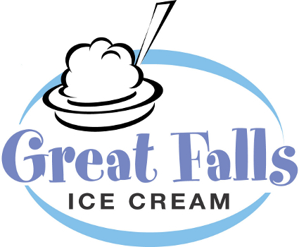 Great Falls Ice Cream Company Logo
