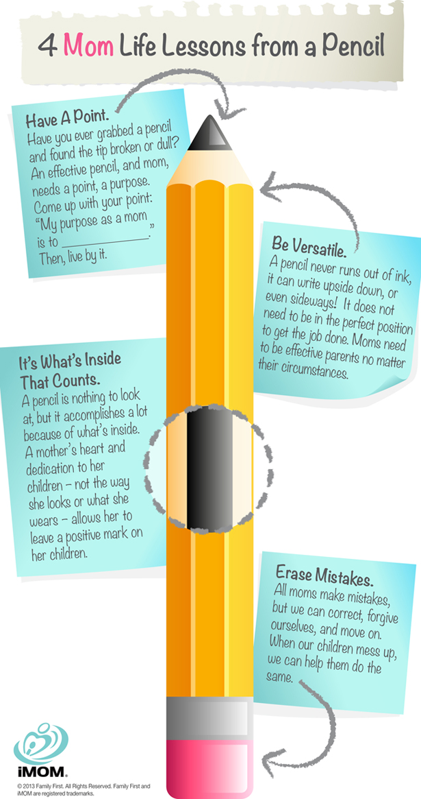 Life Lessons from a Pencil
