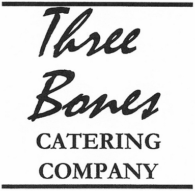 Three Bones Catering Company Logo